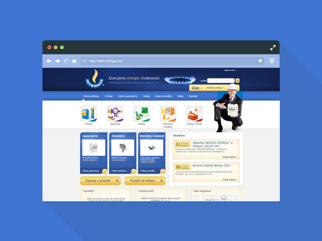 Strona Internetowa Intergaz