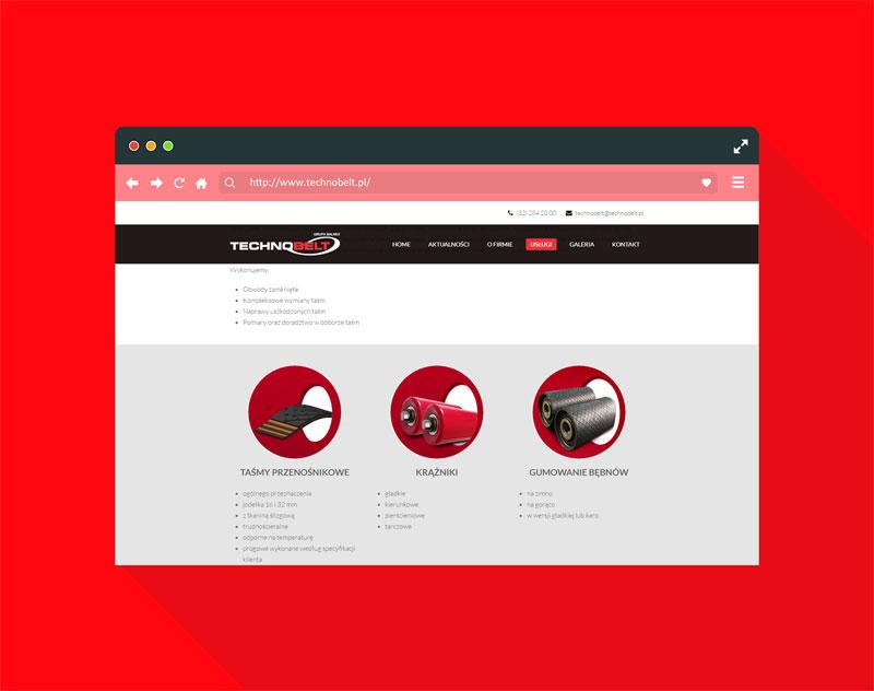 Projekt Strony Internetowej Technobelt 4