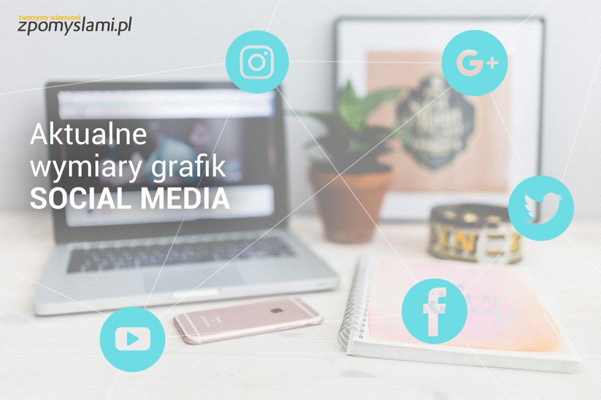 Aktualne wymiary grafik Social Media