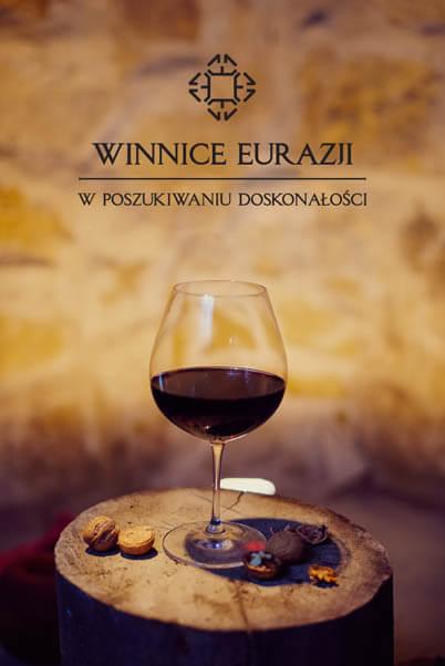 winnice eurazji wizualizacja logo lampka wina