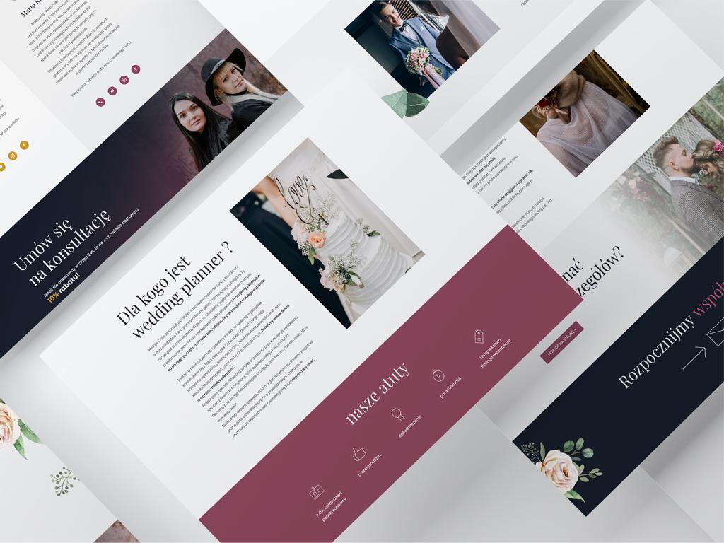 bunny events strona www wedding planer events