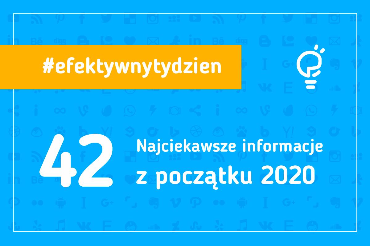 Najciekawsze informacje z początku 2020. Co dobrego przyniesie nam 2020 rok?