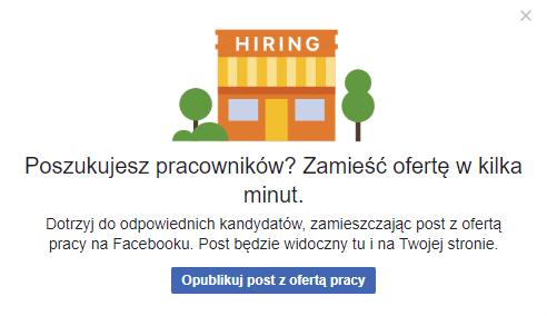 oferty pracy facebook