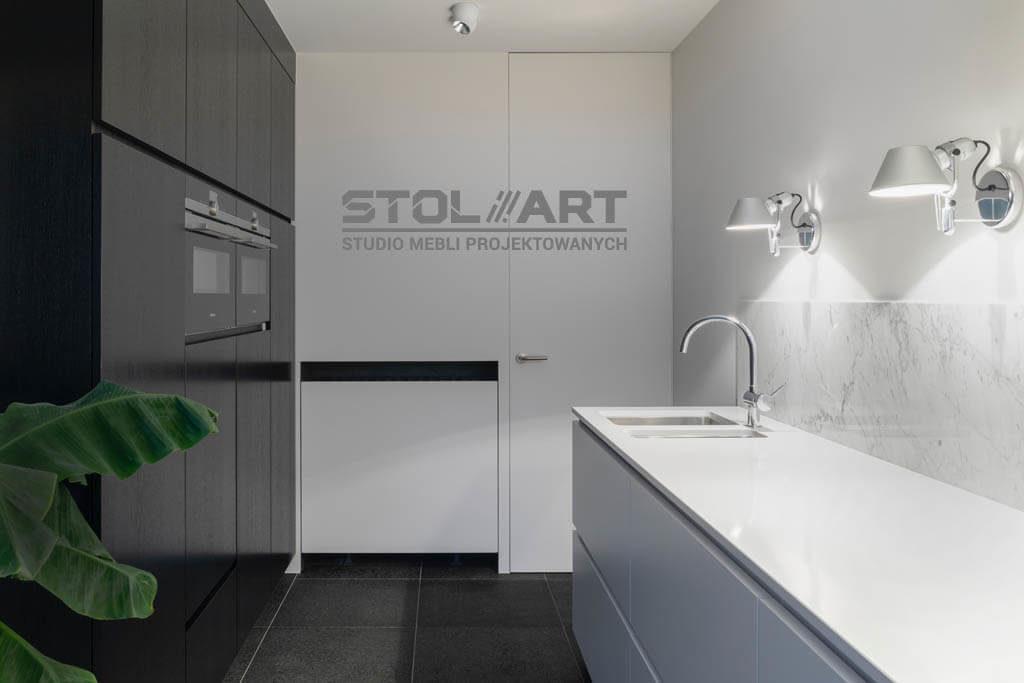 Studio mebli projektowanych wizualizacja logo kuchnia